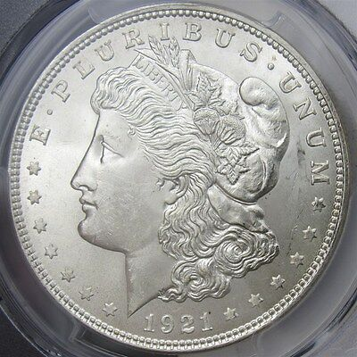 1921 Morgan Dollar - PCGS MS65 - Certified & Graded $1 Silver