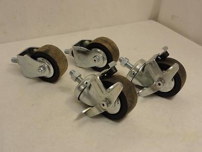 166758 New-No Box, Piedmont LDC302EX Loveshaw LD7, LD3SB Casters, Full Set