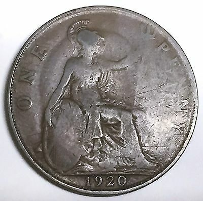 C3628    Great Britain   Coin,    Large Penny    1920