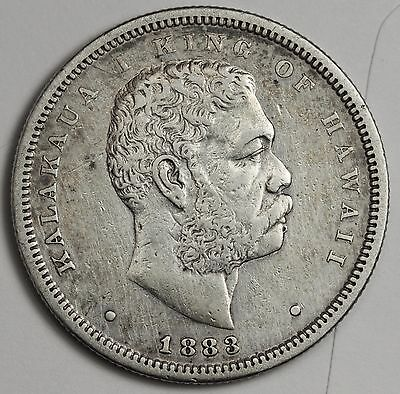 1883 Hawaiian Half.  X.F.  105265