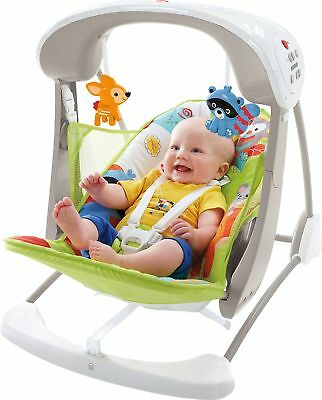 Fisher-Price Woodland Friends Take-Along Baby Swing -From the Argos Shop on ebay
