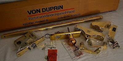 "NEW OLD STOCK Von Duprin 88 8834 Cross Bar Exit Device 29"" Panic Bar BRASS Gold"