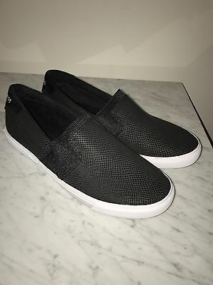 G By Guess Cruise Black Slip On Summer Shoes Nwob Sz 11