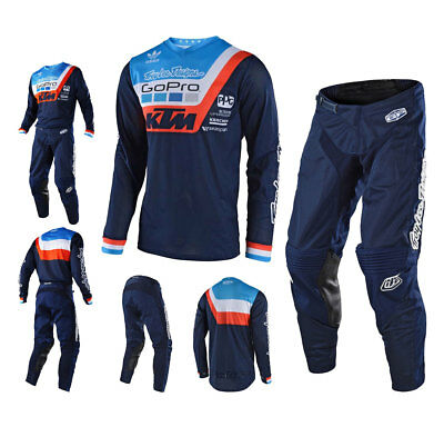Troy Lee Design GP Air Prisma KTM Combo Motocross Jersey Enduro Crosshose navy