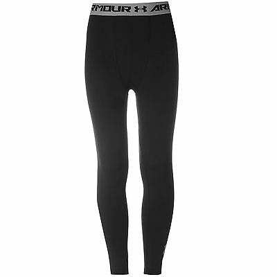 Under Armour Kids Core Training Tights Junior Boys Sports Baselayer