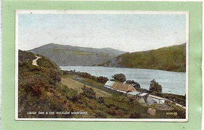 """""postcard Lough Dan & The Wicklow Mountains,ireland"""""