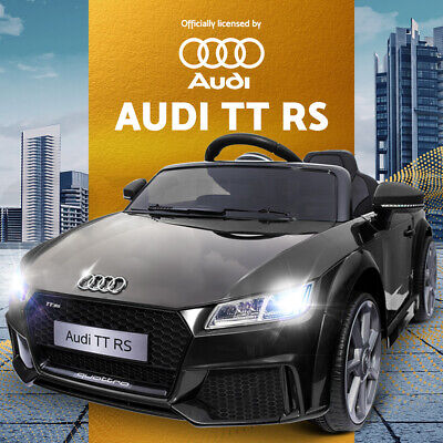 Electric Kids Ride On Car Licensed Audi TT RS Battery Toy Sport Children Remote