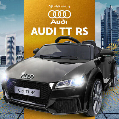 RIGO Kids Ride On Car Licensed Audi TT RS Battery Electric Toy Sport Remote 12V