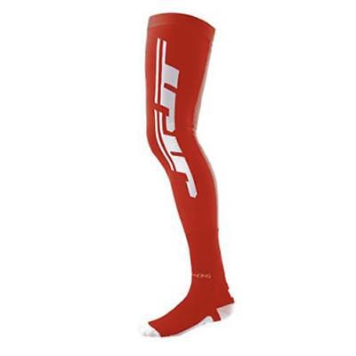 JT RACING  MX SOCKEN MX-KNEEBRACE - COOLMAX - rot-weiß Motocross Enduro MX Cross
