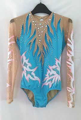 Rhythmic Gymnastics Acro Acrobatics Leotard Tap Costume Baton Twirling No skirt