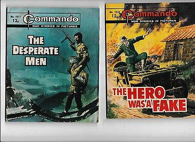 24 Commando Comics All In The 1000's In Good Condition