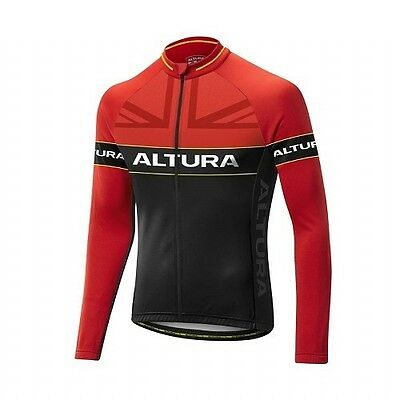 Altura Sportive Team Long Sleeve Cycling Bike Jersey