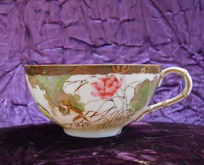 Finely Painted Antique Chinese Tea Cup