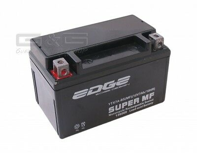 Battery ytx-7-abs 7AH YTX7A-BS YTX7ABS CTX7ABS ftx7abs for Scooter Motorbike