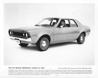 1970 AMC Hornet Five Passenger Compact ORIGINAL Factory Photo oub5530