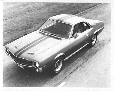 1969 AMC AMX ORIGINAL Factory Photo oub5538