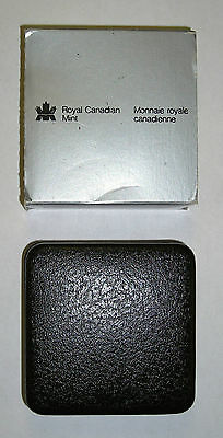 Royal Canadian Mint Silver Proof One Dollar Coin  1886-1986 Coa & Boxed