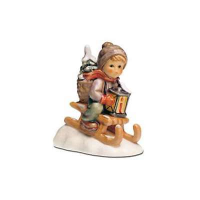 M.I.Hummel Journey into the Christmas, Hum 396/2/0, G. Skrobek, 11 cm, 22000771