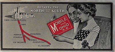 Railroad Blotter Mobile & Ohio Between North & South