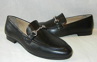 UO Urban Outfitters Women's Iman Horsebit Black Leather Loafer Retail $69 size 9