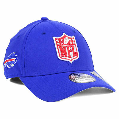 reputable site ea579 a4a1b Buffalo Bills New Era NFL Shield Team Logo 3930 Fantasy Football Cap Hat  McCoy