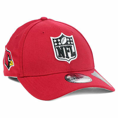 Arizona Cardinals New Era NFL Shield Team Logo Fantasy Football Cap Hat  Johnson 5a4de7e69