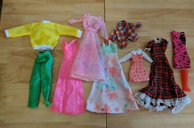 Mixed Lot of Clothes for Barbie Doll