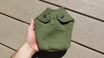 Vietnam M56 M1956 US ARMY MILITARY CANTEEN COVER MINTY 1962 EARLY