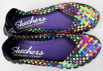 New Weaved Memory Foam Shoes By Skechers~~Size 7 ~~Retailed For Over $70.00