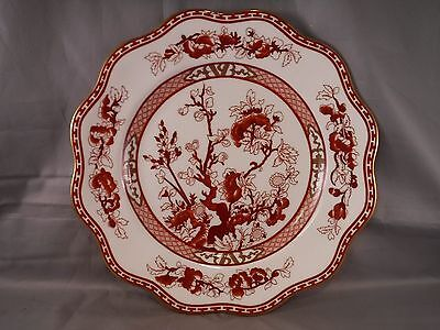 Coalport INDIAN TREE CORAL Bone China Salad/Dessert Plate  Made in England MINT