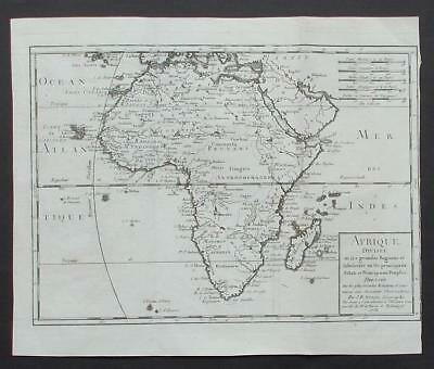 Africa Old French Map