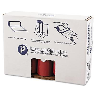 Inteplast Group Low-Density Can Liner 40 x 46 45gal 1.3mil Red 20/Roll 5