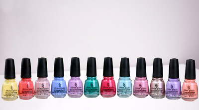 China Glaze Nail Lacquer ~ Choose Any Color! ~ 0.5oz/15mL ~ Series 10