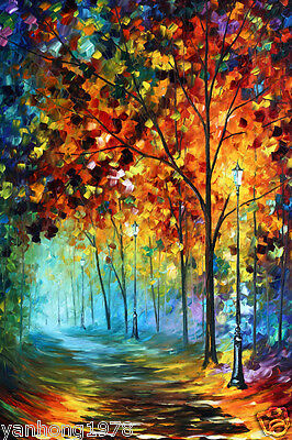 Art Oil Painting Modern Home Deco Abstract Colour Picture Print Canvas No Frame