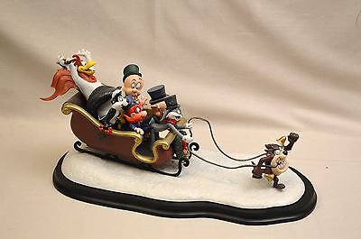"""Looney Tunes """"Laughing All the Way"""" Spotlight Collection Sleigh Figure #161/1200"""