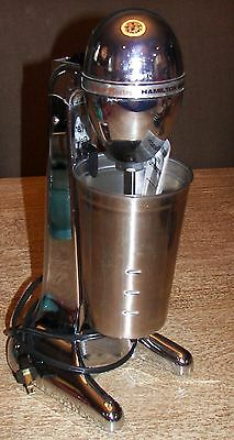 Hamilton Beach Deluxe Drinkmaster Chrome Drink Blender w/Stainless Steel Cup