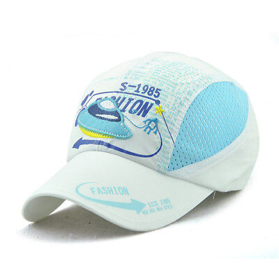 Colorful Breathable Mesh Hats Child Summer Casual Travel Sunscreen Baseball Hat