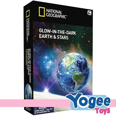 National Geographic Glow in the Dark Earth & Stars