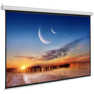 92 INCH 16:9 Wall Ceiling HD Electric Motorized Projector Screen Remote Control