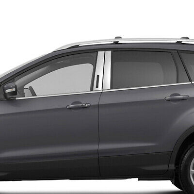 Pillar Post Covers for 2013-2017 Ford Escape (Stainless Steel 4pc)