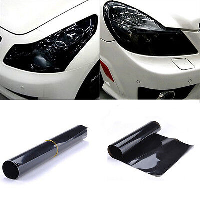 Best Black Car Headlight Tint Film Taillight Tail Wrap Fog Light Films Sticker
