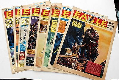 8 EAGLE AND BOYS WORLD COMIC VOL 18  No's 1 TO 10 - 4 & 5 MISSING 1967
