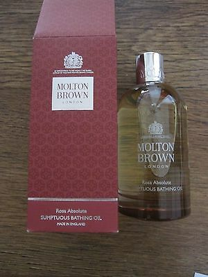 Molton Brown Rosa Absolute Sumptuous Bathing Oil 200ml brand new rrp £39