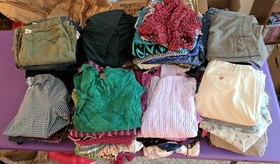 Womens/Ladies/Missies Clothing Bulk Lot for Resale 64 lbs Sizes XS-M 0-10