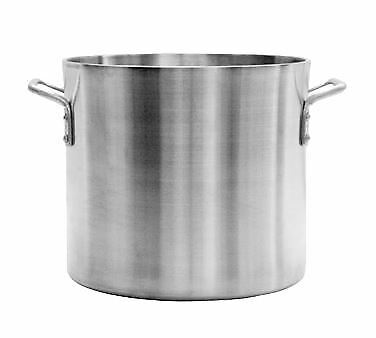 Thunder Group ALSKSP607 Stock Pot, 40 Quart, Heavy Duty, 6mm Thick,Aluminum