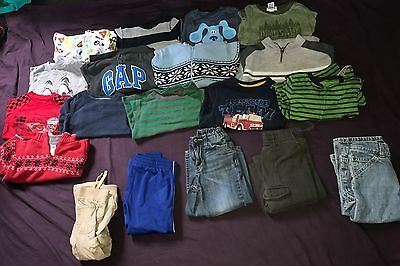 Huge Lot of 19 Boy Clothes Size 2T Name Brand Gymboree Nike Gap Crazy 8 Place