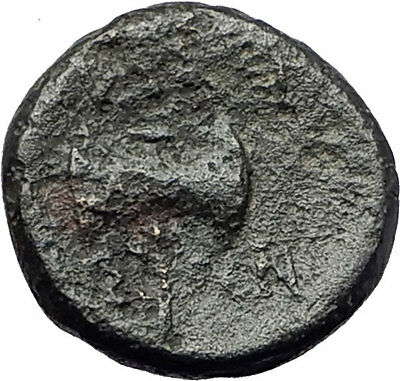 THYATEIRA in LYDIA 200BC Genuine  Authentic Ancient Greek Coin APOLLO AXE i61475
