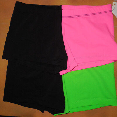 NWT Gia Mia 2 Tone Booty Shorts Two Color Choices Ladies Adult Sizes G161