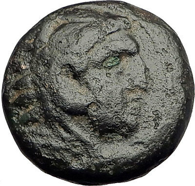 ALEXANDER III the Great 325BC Macedonia Ancient Greek Coin HERCULES CLUB i62576