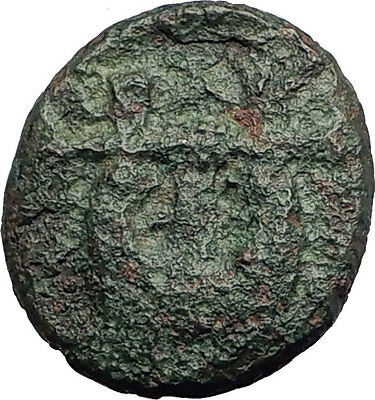 OLYNTHOS MACEDONIA 420BC Chalkidian League Ancient Greek Coin APOLLO LYRE i62577